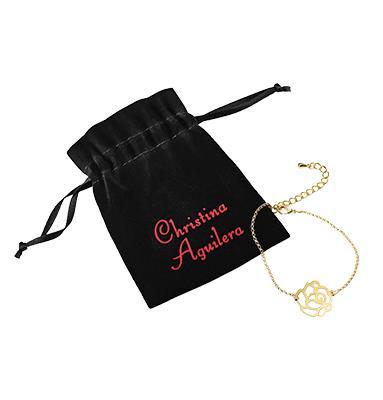 Christina Aguilera Flower Bracelet