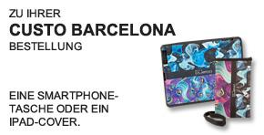 Custo Smartphonetasche oder iPad-Cover - Teaser -