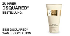 Desquared WANT Body Lotion 100 ml - Teaser -