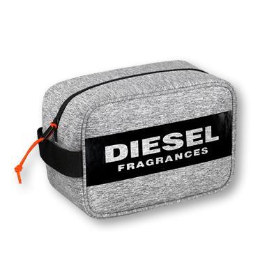 Diesel Kulturtasche grau