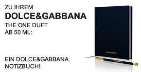 Dolce&Gabbana Notizbuch - Teaser -
