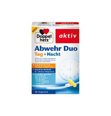 Doppelherz Abwehr Duo Tag + Nacht 30 Kapseln