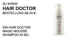 Hair Doctor Magic Mousse Shampoo 50 ml - Teaser -