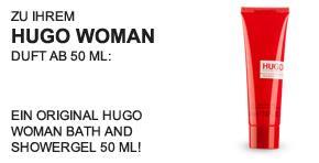 Hugo Woman Showergel - Teaser -
