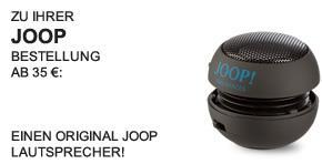 JOOP Lautsprecher - Teaser -