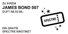 James Bond Kinoticket - Teaser -