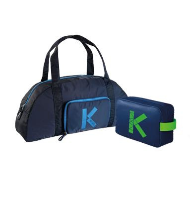 KENZO Faltbare Sporttasche oder KENZO Pouch