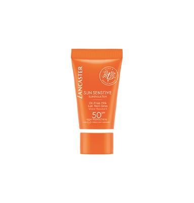 Lancaster Sun Sensitive Luminous Tan Oil-Free Milk SPF50 15ml