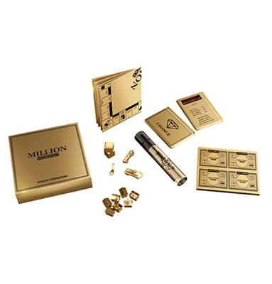 Paco Rabanne Lady Million 1,5ml Luxus Sample inkl. Reise-Monopoly-Spiel