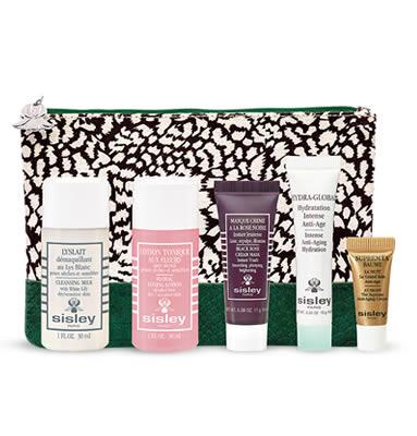 SISLEY Tasche mit 5 Produkten - LandingPage1 -