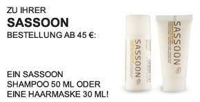 Sassoon Shampoo 50 ml oder Haarmaske 30 ml - Teaser -