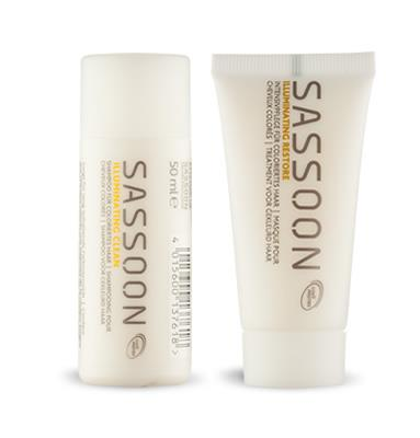 Sassoon Shampoo 50 ml oder Haarmaske 30 ml - LandingPage1 -