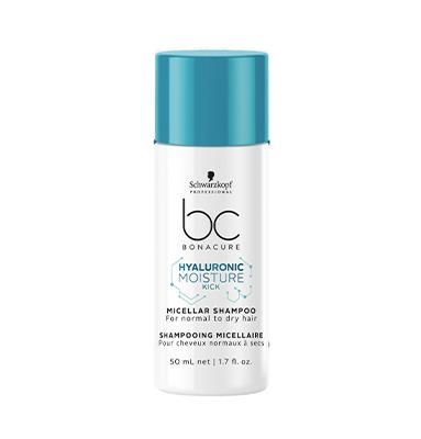 Schwarzkopf Pro BC Hyaluronic Moisture Kick Micellar Shampoo 50ml