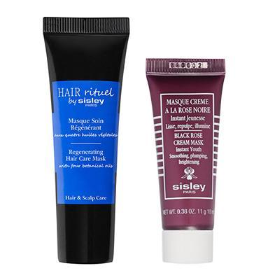 Sisley Hair Care Mask 15ml oder Black Rose Cream Mask 10ml