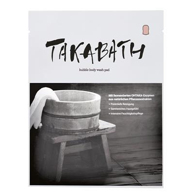 TAKABATH Bubble Body Wash Pad