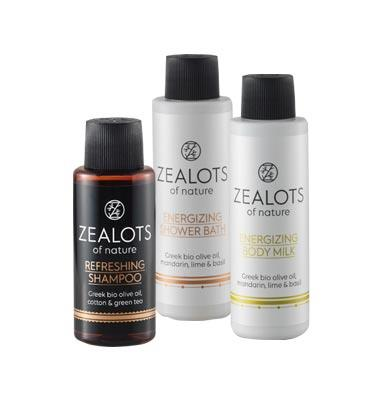 Zealots of Nature Shampoo, Shower Gel oder Body Milk