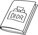 DIOR Notizbuch